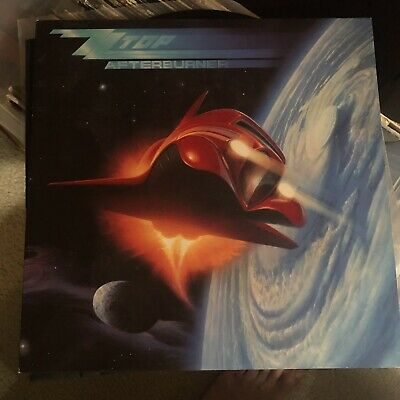 ZZ Top AFTERBURNER Vinyl Record LP Album VG w/black Inner sleeve 25342