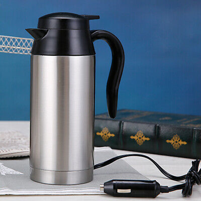 12V /24V Electric Kettle Water Car Van Lorry Travel Portable Camping 750Ml Hot