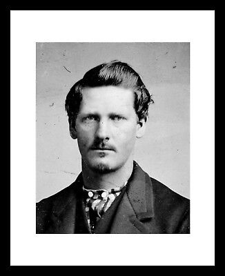 Wyatt Earp 8X10 Photo Print Old West OK Corral Doc Holliday Western Cowboy