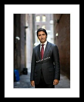 Justin Trudeau 8x10 Photo Print Canada Prime Minister Suit Alley Canadian