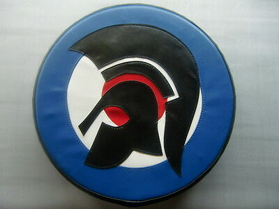 Large Trojan Head Target Scooter Wheel Cover