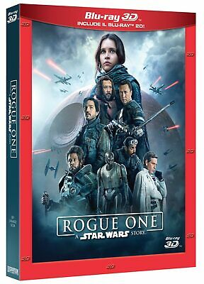 |052245| Star Wars - Rogue One (3D) (Blu-Ray 3D+2 Blu-Ray) - Rogue One - A Star