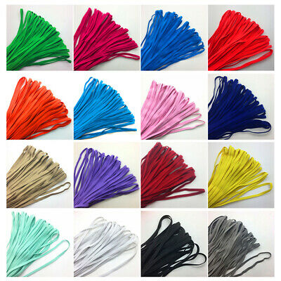 10M 6mm Thicken Strong Elastic Cord Stretch Bands Sewing Trims DIY Craft Supply