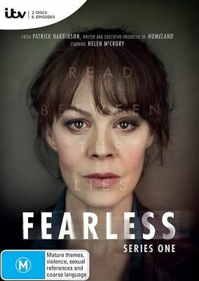 Fearless : Season 1 (DVD, 2-Disc Set) NEW