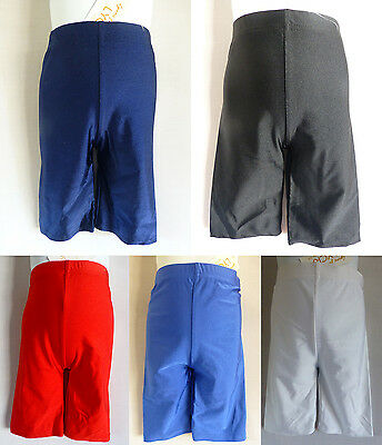 Girls/Boys Cycling Shorts, Lycra Shorts Pe Shorts School Uniform Dance 3-12Y