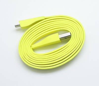 Yellow Micro USB Cable 4ft For Logitech Ultimate Ears UE BOOM Bluetooth Speaker
