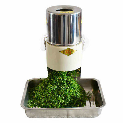 Electric vegetable chopper Commercial cutting machine 220W 220V
