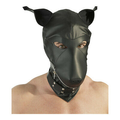 Fetish Collection - Maschere - Maschera testa di cane - Noir