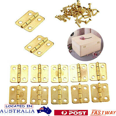 Mini Hinges Cabinet Drawer Jewellery Box Decorate Hinge For Furniture Hardware