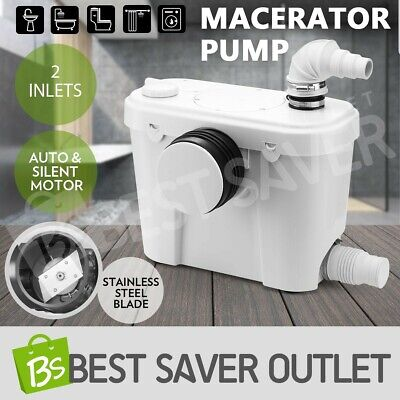 Macerator Sewerage Pump Waste Water Marine Domestic Bathroom Sink Disposal 400W