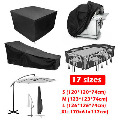 Waterproof Garden Bbq Patio Furniture Cover Table Cube Covers Outdoor Rattan Uk