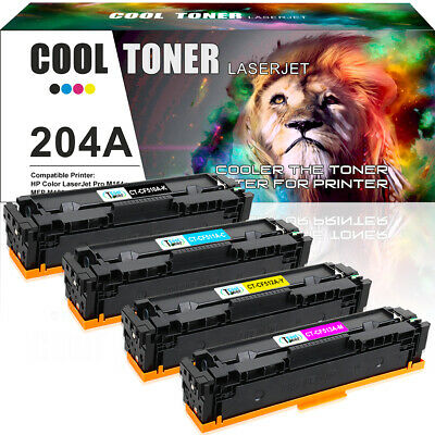 4PK for HP CF510A 204A Toner Color LaserJet Pro MFP M180nw M181fw M154a M154nw