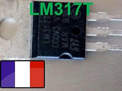 LM317T  Regulateur de Tension Ajustable ST LM317T TO220  x1 LM317 t