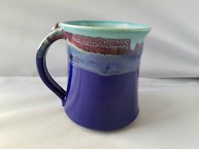 Neher Pottery Clay In Motion Handmade Coffee Mug 2017 Stoneware Cup Home Kitchen