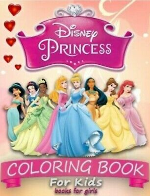 Disney Princess Colouring Book Kids Girls 40 PAGE Birthday Gift