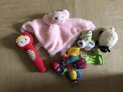 Bundle Of Baby Accessories Including Lamaze Rattle Feet Set #free Post