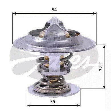 VOLVO V70 MK2 2.3 Coolant Thermostat 99 to 04 Firstline 2714178 2716645 2716648