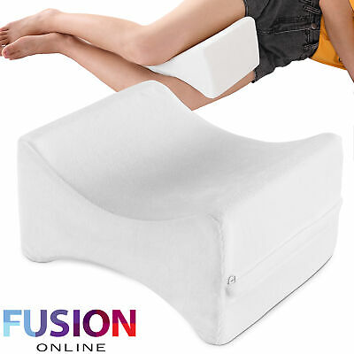 Leg Knee Pillow Memory Foam Orthopaedic Support Firm Back Hips Pain Relief Bed