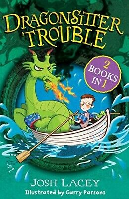 Dragonsitter Trouble: 2 books in 1 (The Dragonsitter series) - New Book Lacey, J