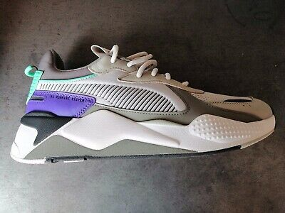 PUMA RS X TRACKS (Gray Violet Charcoal Gray) Sneakers Basse