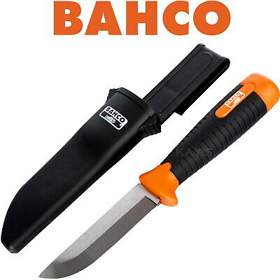 Bahco Curved Blade Wood Wrecking Demolition Slitting Carpenters Chisel + Holster
