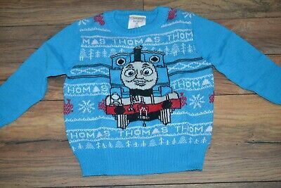 Thomas The Tank Engine Sweater Jumping Beans Toddler Boys Sweater