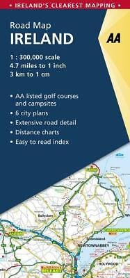 AA Road Map Ireland by AA Publishing