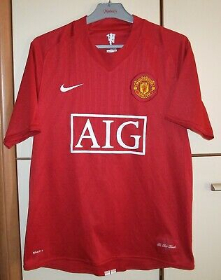 31751164ec7 Manchester United 2007 2008 Home Football Shirt Jersey Maglia Nike Size M