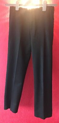 Boys : Trousers : School Trousers : Size UK 12 Years : Urban Outlaws : Black