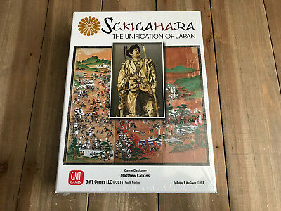 juego wargame - Sekigahara - 3rd printing - The Unification of Japan - GMT Games