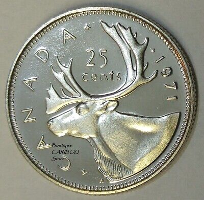 1971 Canada Proof-Like 25 Cents