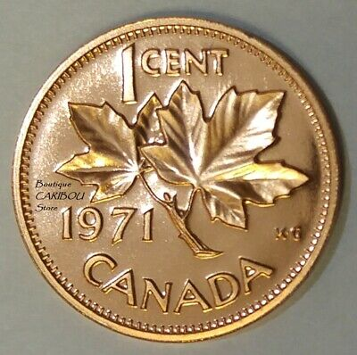 1971 Canada Proof-Like 1 Cent