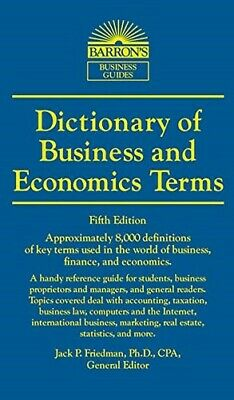 Dictionary of Business and Economics Terms (Barron's Business Dictionaries) - Go