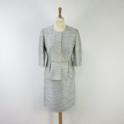 Designer L'ATELIER Mother of the Bride Two Piece Dress & Jacket Unused + Tag 10