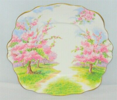 Royal Albert Blossom Time Cake Plate ( 2 Available )