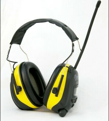 Radio AM FM Ear Defenders Protectors Muffs FREE 3.5 AUX CABLE INCLUDED