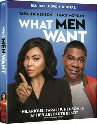 What Men Want (BLU-RAY) Case+Artwork+Slipcovers INCLUDED- NO DVD or DIGITAL