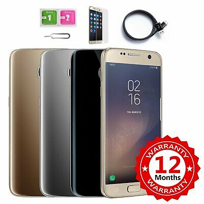 """SAMSUNG GALAXY S7 5,1"""" Touch Screen Android 32GB Smartphone Simlock"""