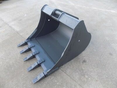 Miller 48 Inch Bucket With Teeth On 65 Mm Pins / Free Uk Delivery Included