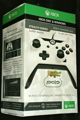 Ghost WHITE CAMO Wired Controller Officially Licenced XBOX ONE X S & PC NEW PDP