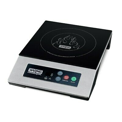 "Waring WIH200 12"" Countertop Induction Range with Touch Controls"
