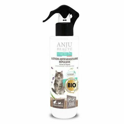Lotion Anju Bio Antiparasitaire Repuls Chat 250Ml