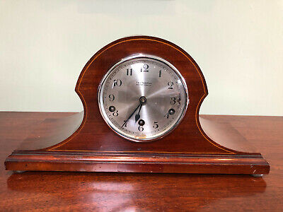 Early 20th Century Mahogany Westminster Chime Mantel Clock