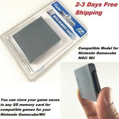 SD Memory Card Stick Converter Adapter For Nintendo Gamecube NGC Wii