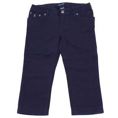 5781Y jeans bimba GIRL RALPH LAUREN WITHOUT LABEL blue cotton pant