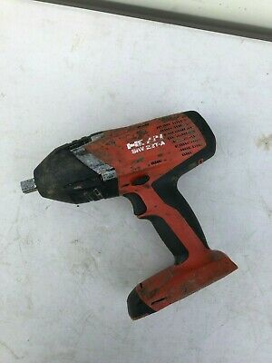 """Hilti SIW 22T-A 1/2"""" 21.6v Cordless Impact Wrench Nut Runner"""