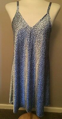 Marks & Spencer Nightie / Nightdress, Animal Print UK 14 / EUR 42 - Short - Used