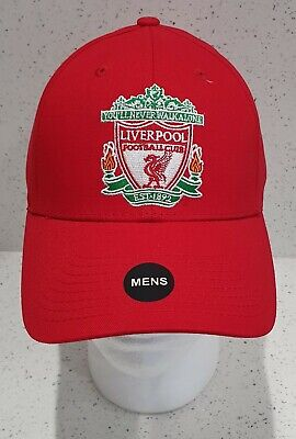 Official Liverpool FC Red Crest Baseball Cap - Adults