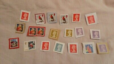 20  UNFRANKED  1st CLASS STAMPS on Paper