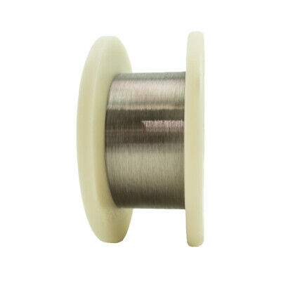 "Tungsten Fine Wire, 0.0004"" Diameter, 500m/Spool"